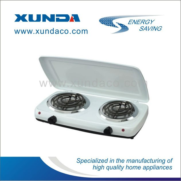 2 Burner Electric Hot Plate