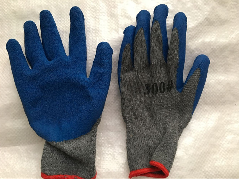 10g T/C Shell Latex Palm Coated Work Gloves