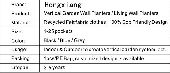 Plant Grow Bag Pet Geotextile with UV