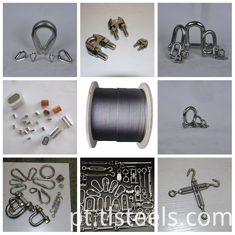 22mm Stainless Steel Wire Rope