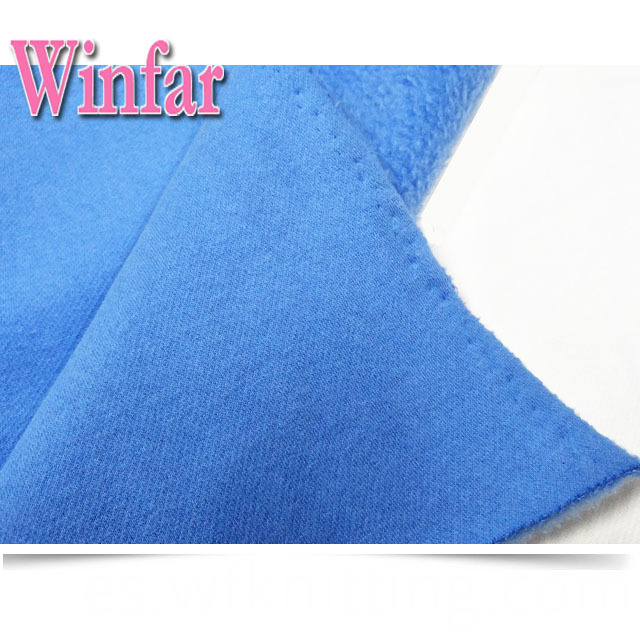 One Side Brushed Plush Fabric