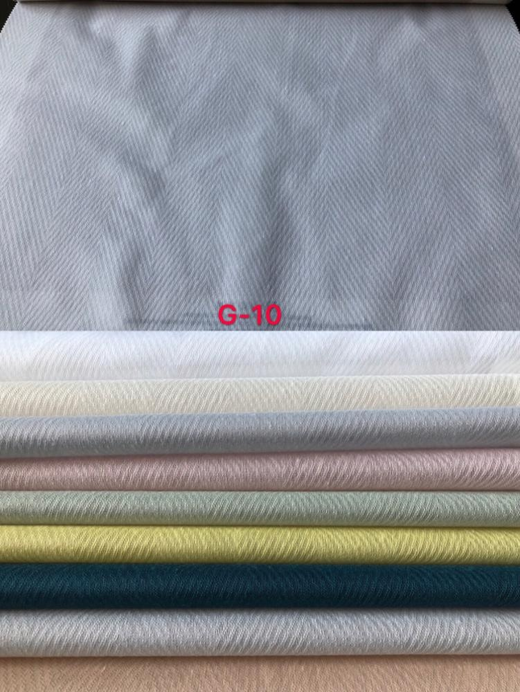 Natural Style Linen Voile Jacquard Curtain Fabric 2