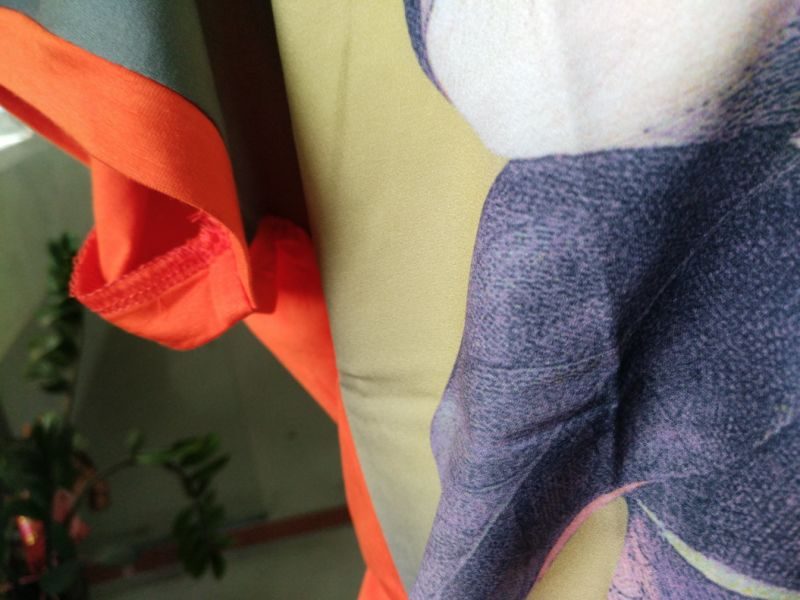 Summer Fashion Latest Flower Printing Cotton Women T-Shirt Clothes