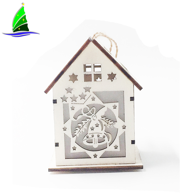 Wooden House Small Bell Scene