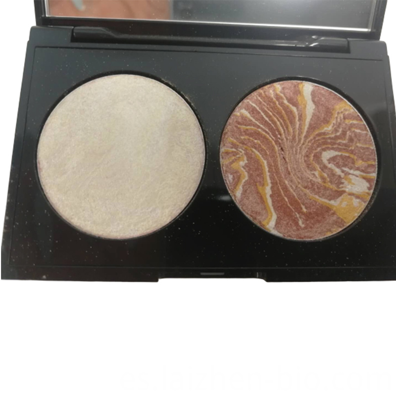 Highlight blush 2 in 1