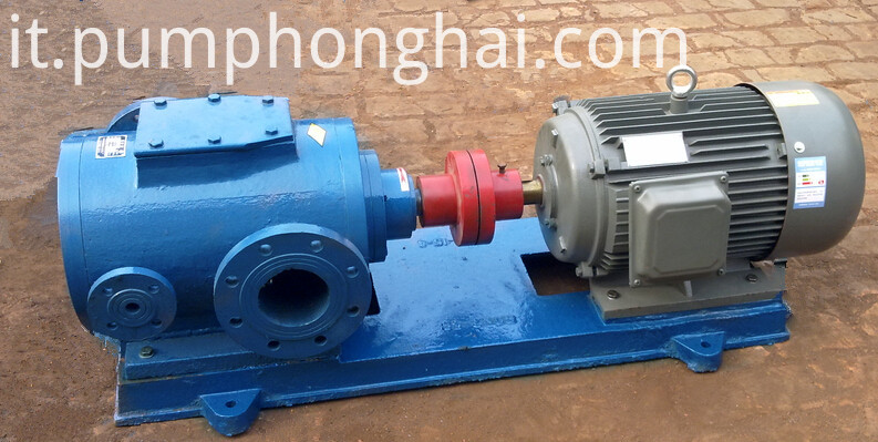 3QGB series heat insulation asphalt three screw pump