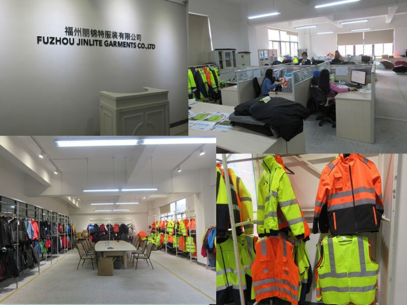 Winter High Visibility Workwear Safety Jacket