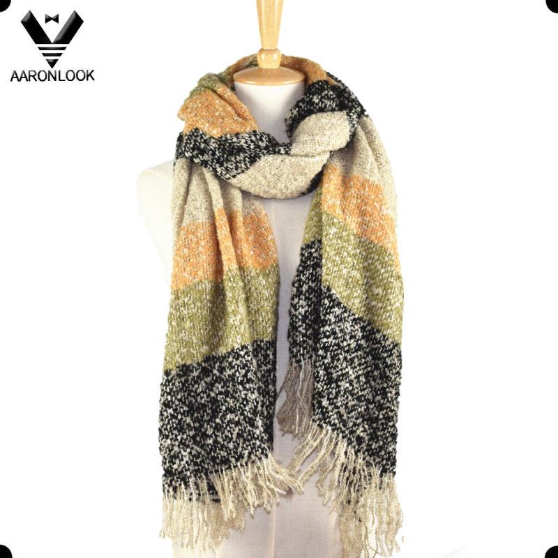 Hot Style Women Winter Soft Wrap Oversized Scarf