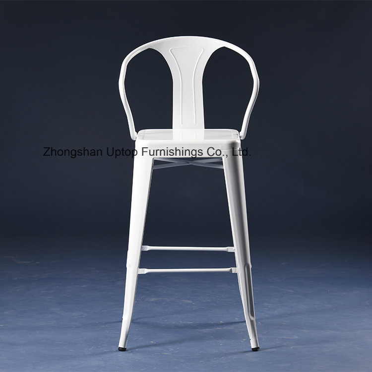 Factory Supply Colorful Durable Metal Industrial Bar Chair (SP-MC040)