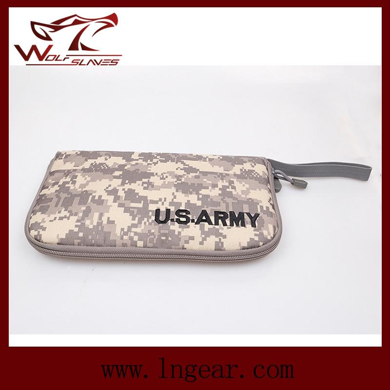 Airsoft Tactical Military Portable Handgun Holster Pistol Carry Bag Pouch Pistol Hand Gun Soft Case 4 Colors