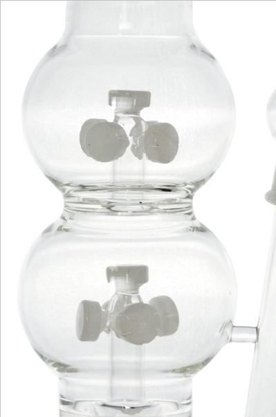14 Showerheads Ice Catcher Hookah Glass Smoking Water Pipe (ES-GB-427)