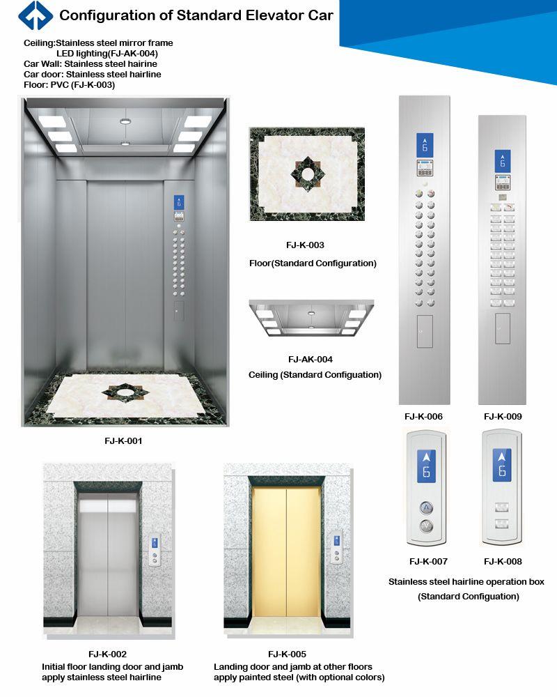 Gearless Passenger Elevator From Profession Manufacturer