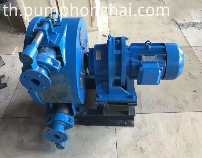Concrete Squeeze Pump Price Cast Iron Casing+steel Rotor+rubber Hose