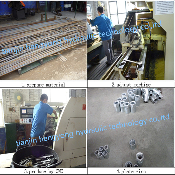 Carbon Steel AC Part Fitting AC Splicer Fitting