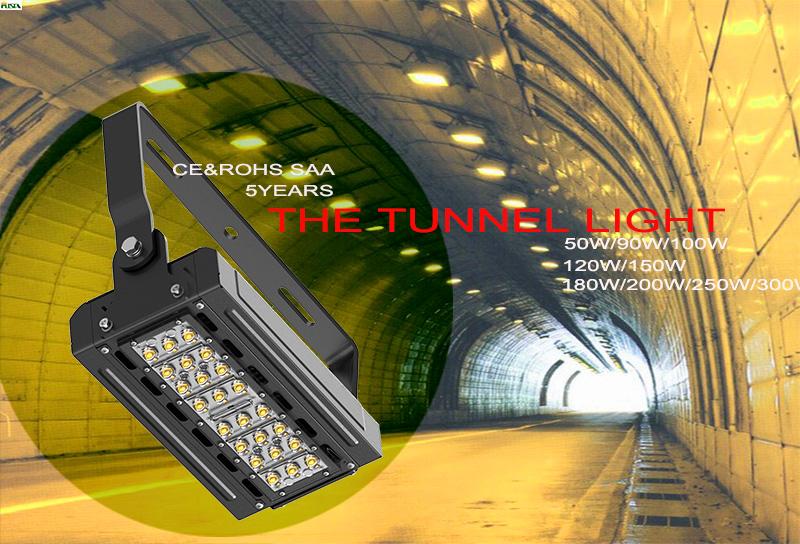 50W New LED Tunnel Flood Outdoor Light with SAA UL