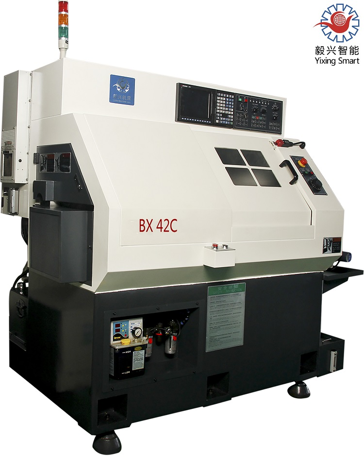 Bx42 Universal High Quality 4 Axis Mini Automatic CNC Turning Lathe for Sales