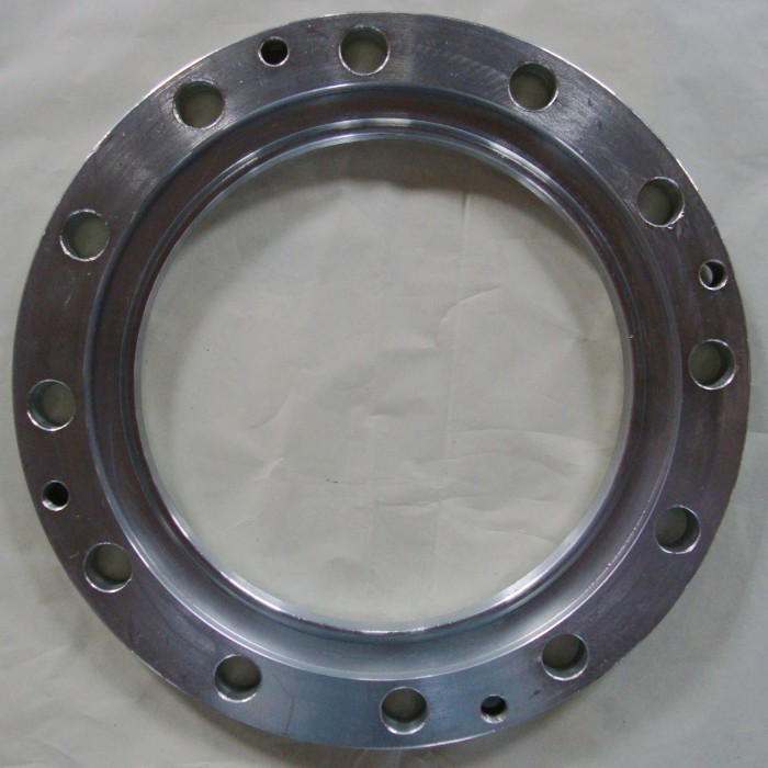 BS4504 Forged Carbon Steel Raised Face Thread Flange