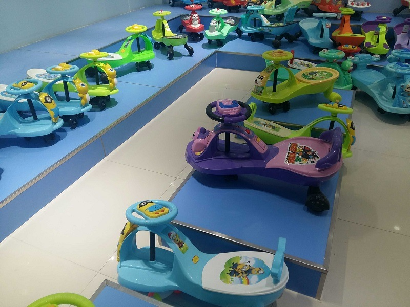 Best Price Kids Cars Baby Toys Colourful Baby Swing Multifunction Baby Cheap Twist Car