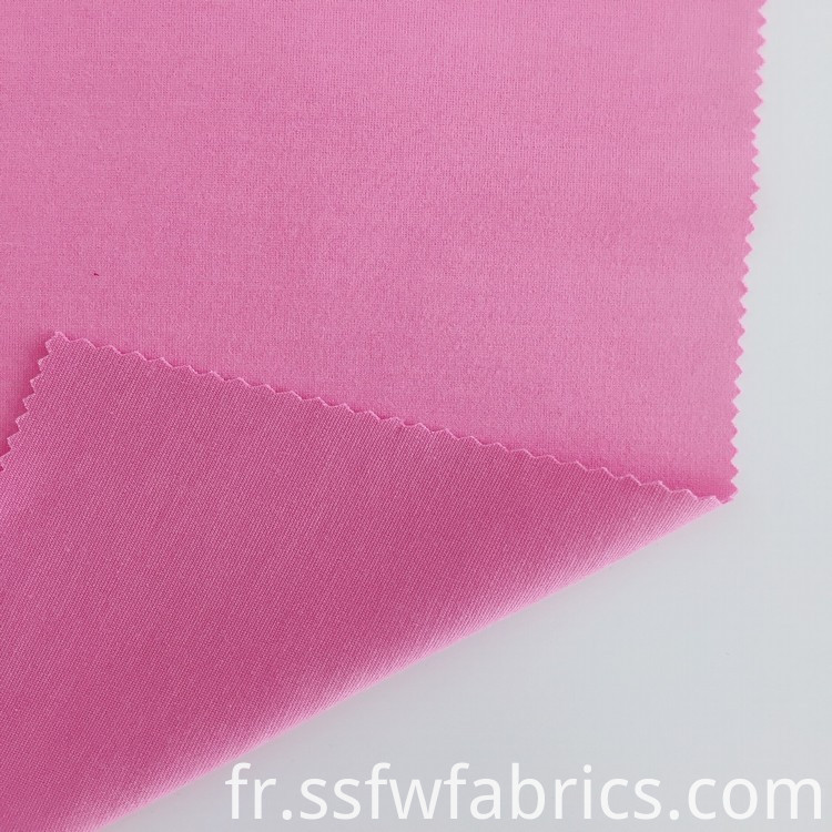 Pink Rayon Weft Roma Fabric