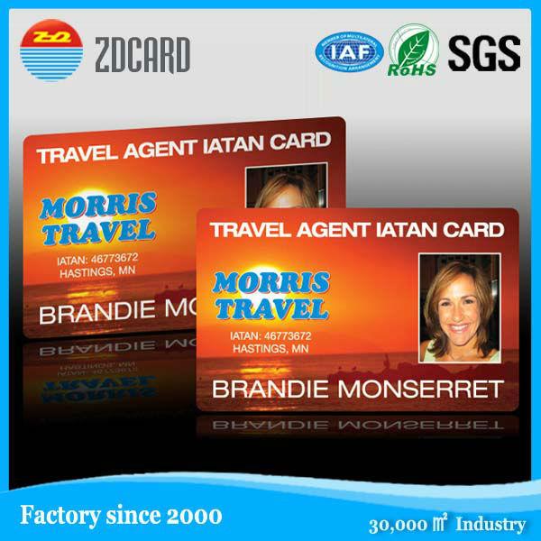 Plastic PVC ID Card Business Card Clear Card