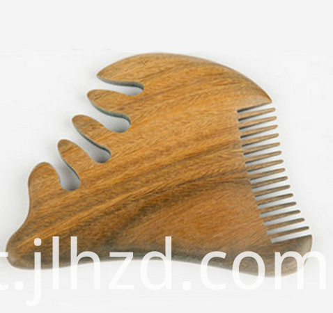 Sandalwood wide tooth comb
