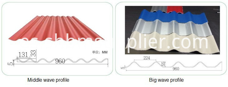 High strength blue roofing shingles