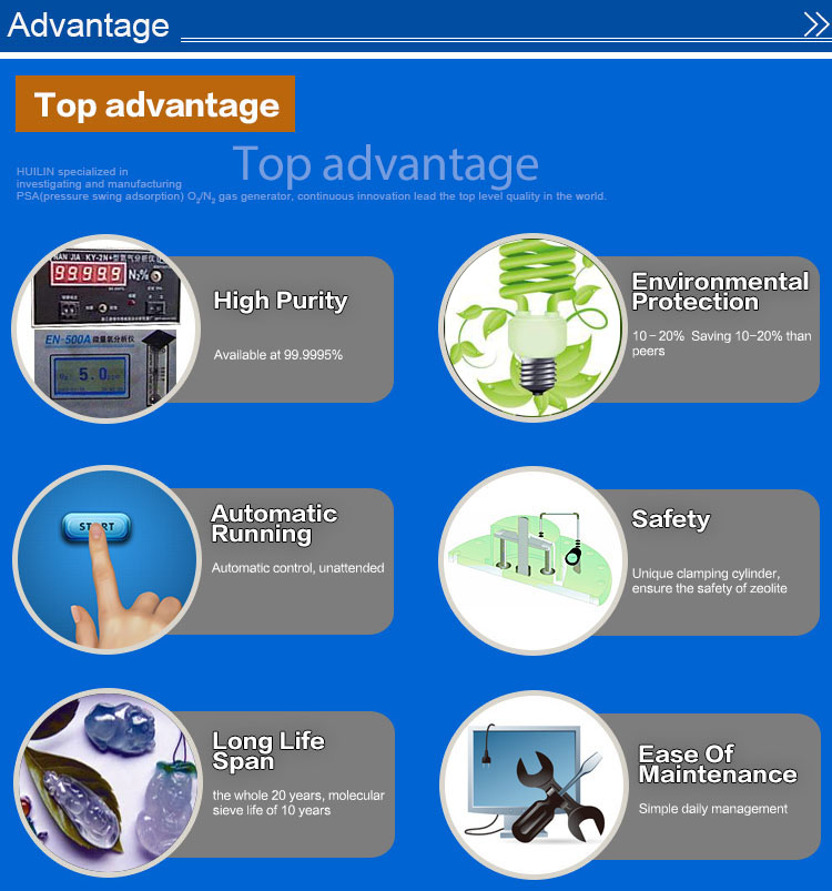 High Degree of Automation Psa Nitrogen Generator Generator