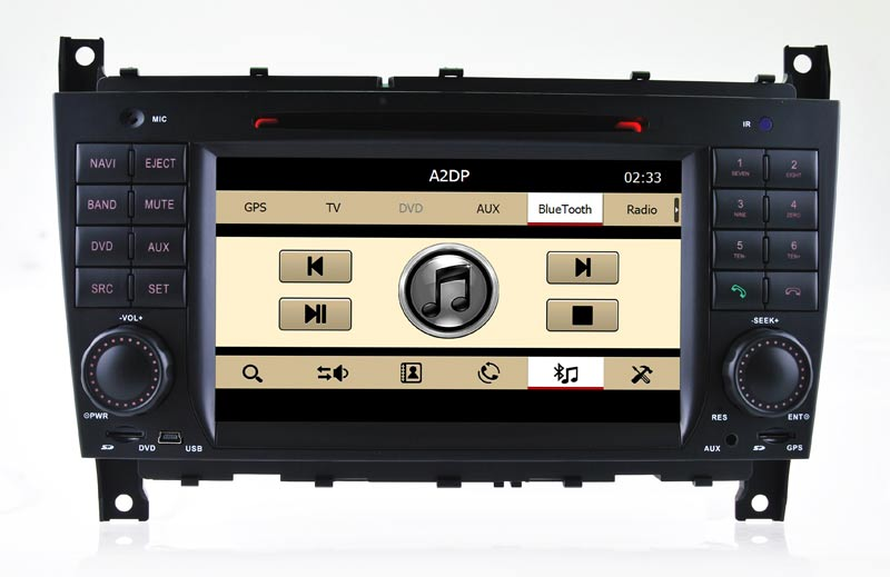 Auto GPS for Benz C-Class W203/Clc DVD Player