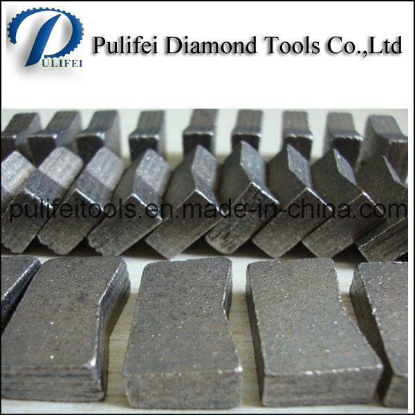 Granite Cutting Rock Segment for Abrasive Marble Stone Cutting