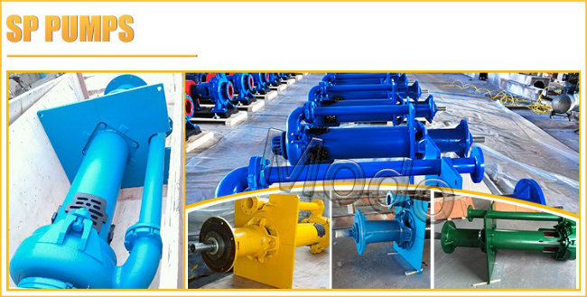 Metal Centrifugal Vertical Submerge Slurry Pump for Metallurgy