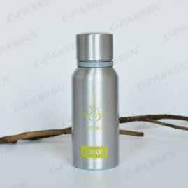 350ml Aluminum Vodka Bottle with One Color Screen Printing