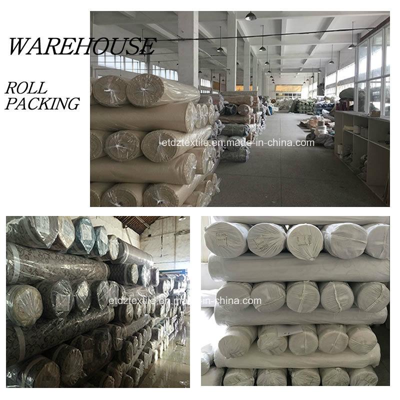 2016 Polyester Twisted Yarn Curtain Fabric