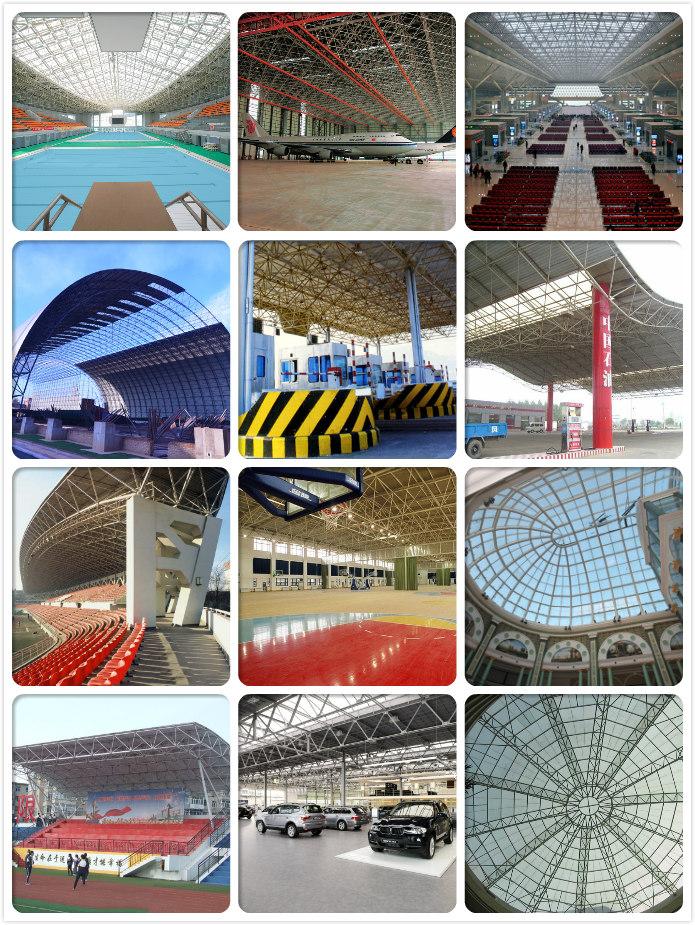 High Standard Light Steel Structure Stadium Bleachers