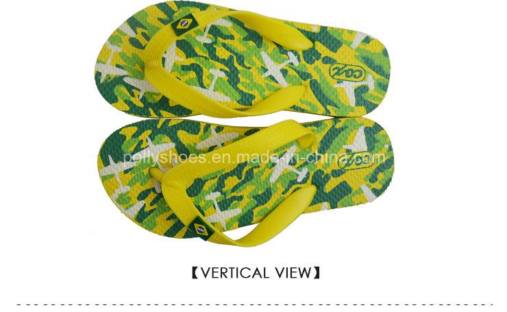 Name Brand New Fashion Brazil Nature Rubber Flip Flop Wholesale