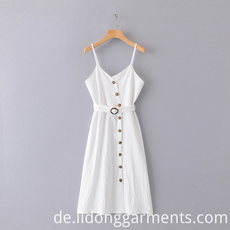 Women White Dress