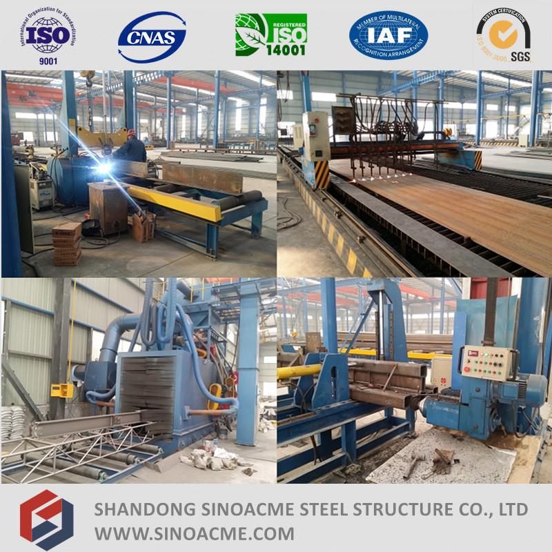 Prefabricated Steel Structure Frame Workshop