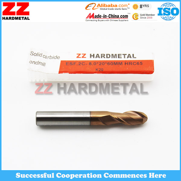 Zhuzhou Hole Machining Carbide End Milling Cutter