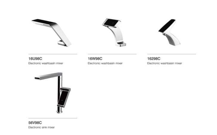 Hight Quality Electronic Sink Water Faucet (DH02)