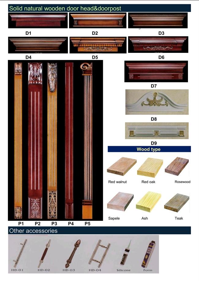 Interior Wooden Door/Solid Wooden Door (RA-N001)