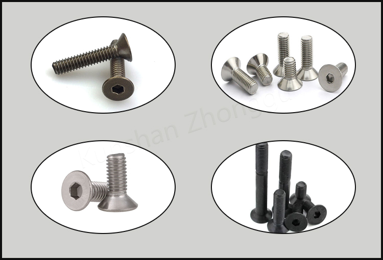 Hexagon socket countersunk head screw