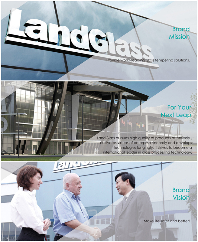 Landvac Durable Bulletproof Vacuum Glass for Museum