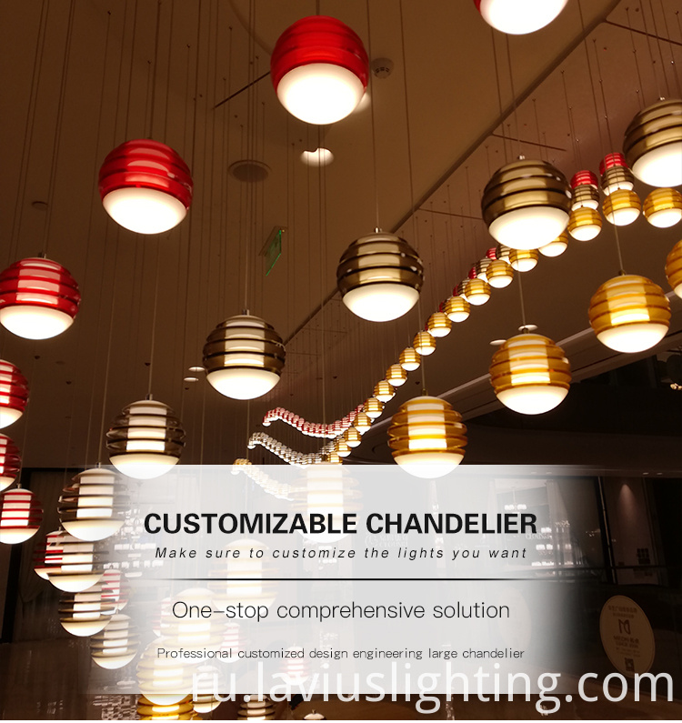 large glass pendant light