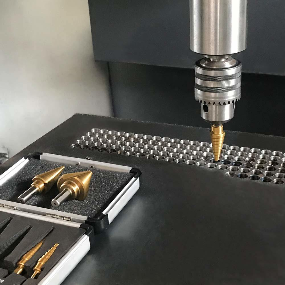 new best quality step drill bits