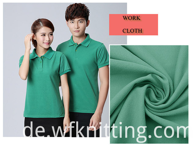 Cotton Pique Fabric For Work Shirt