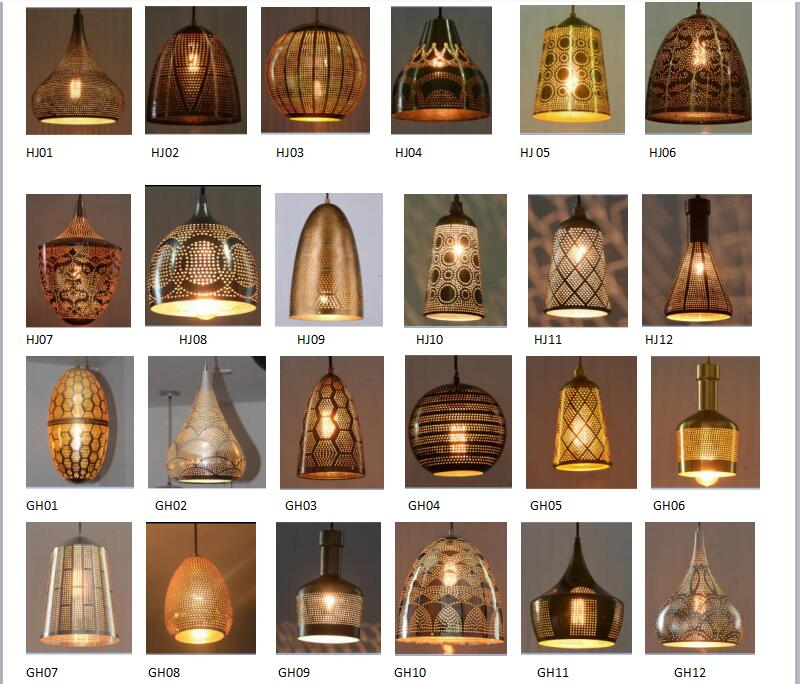 Individuality and Fashion Round Wood Hollow Pendant Lighting