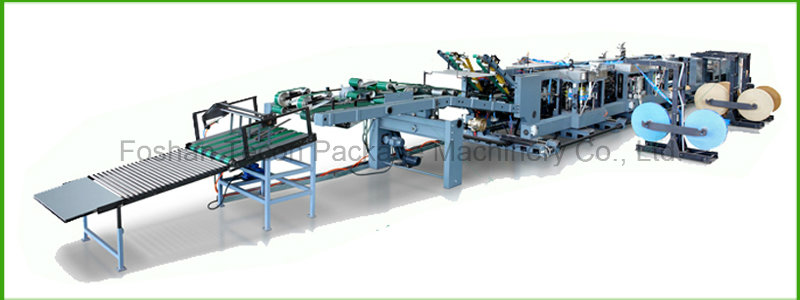 Automatic Paper Bag Tube Forming Machine for Valve Sack
