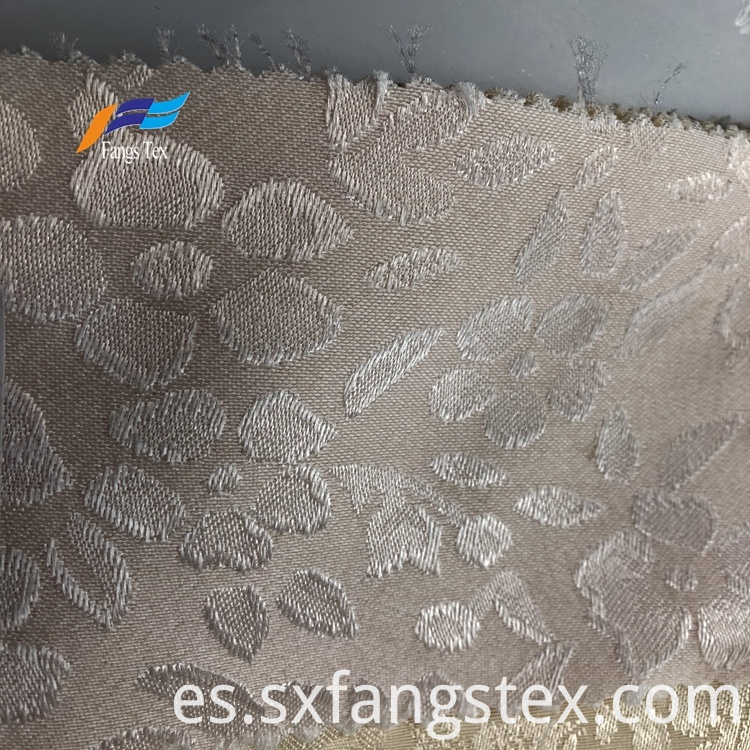 Elegant 100% Polyester Jacquard Window Curtain Fabric