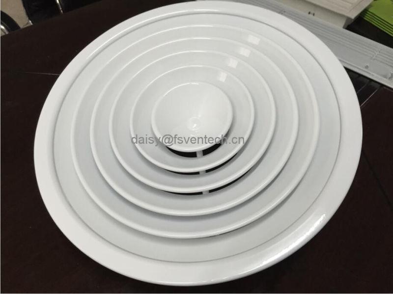 HVAC System Air Round Ceiling Diffuser