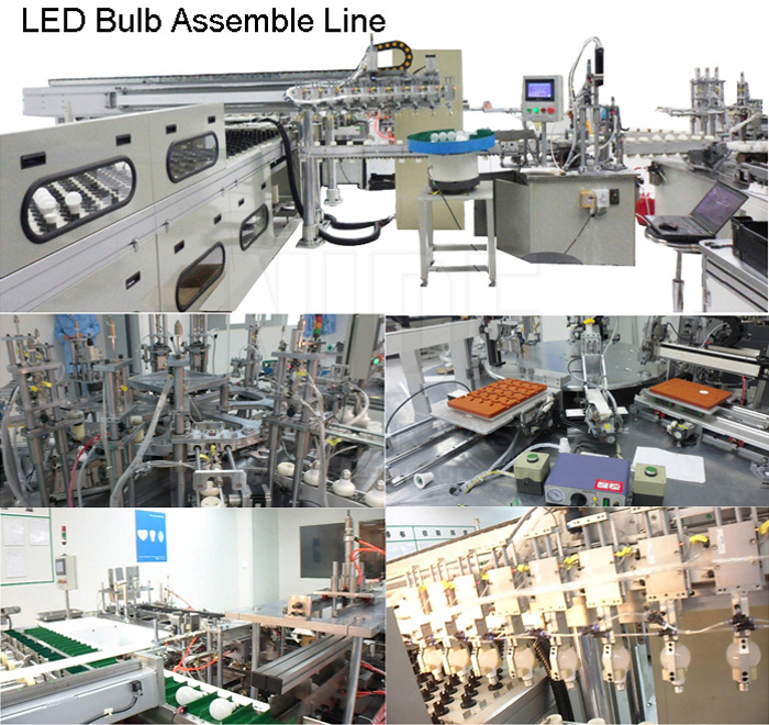 LED Light LED Bulb Manufacturing Machines Production Line