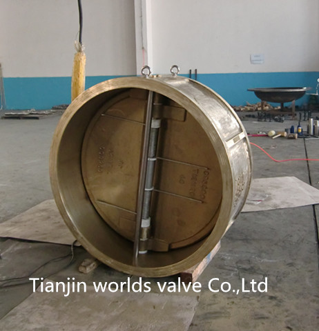 Dual Plate Wafer Check Valve with CE ISO Wras (H77X-10/16)